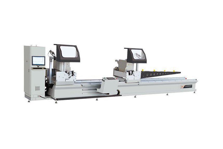 Aluminum Any Angle CNC Double Mitre Saw