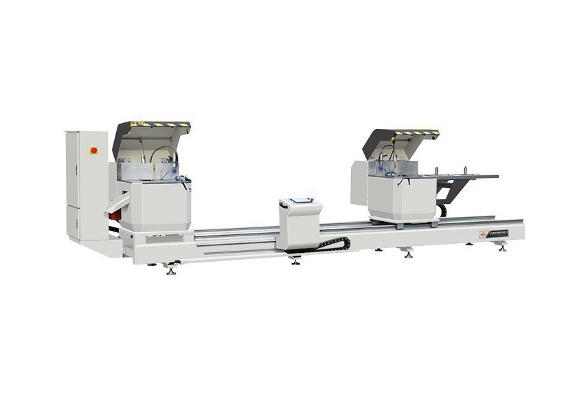 Heavy Dutly CNC Double-head Precision Cutting Saw for Aluminum Profile