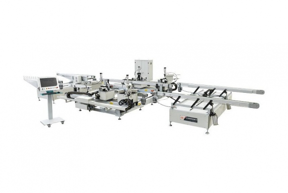 CNC Group Angle Production Line for Aluminum Win-door