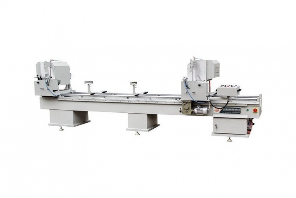 Double-head Saw for Aluminum and PVC Profile