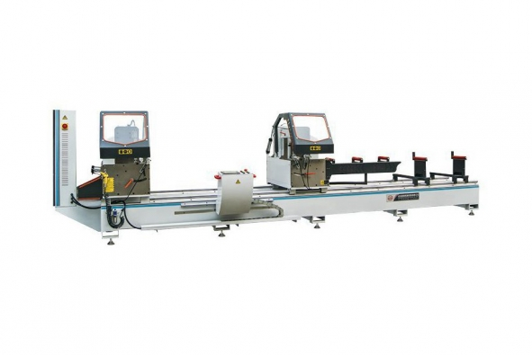 CNC Double-head Precision Cutting Saw for Aluminum Profile