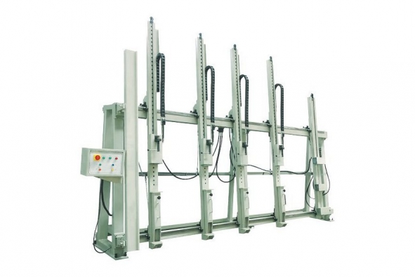 Crimping Machine for Wood Window
